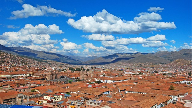 Cusco rooftop view
