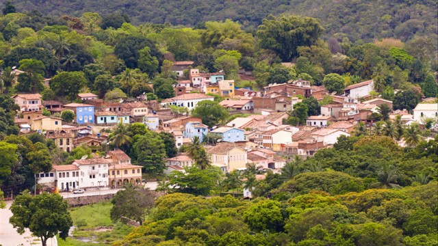 The town of Lençóis